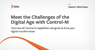 Meet the Challenges of the Digital Age with Control-M