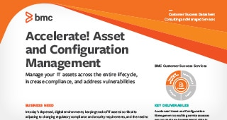 Asset and Configuration Management Consulting