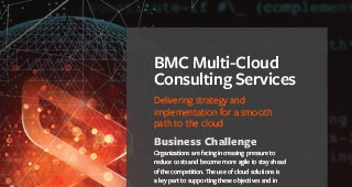 BMC Multi-Cloud Consulting Services