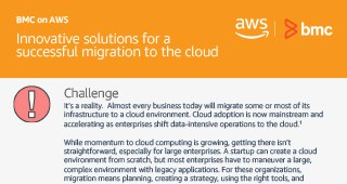 BMC on AWS: Innovative Solutions for a Successful Migration to the Cloud