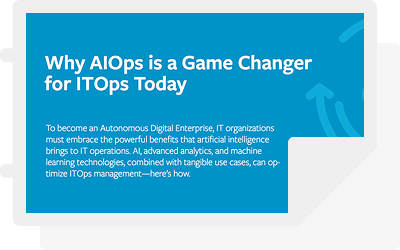 Why AIOps is a Game Changer for ITOps Today
